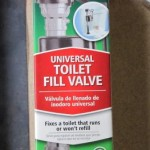 Chicken waterer toilet valve