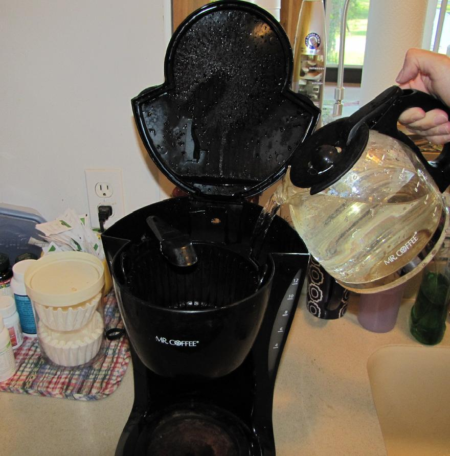 Coffee Pot Stains Cleaning : How to clean a Coffee Maker - Coffee Maker is Slow