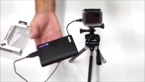 GoPro on a Power Bank