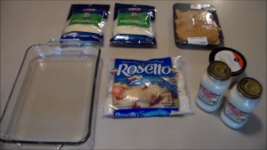 Cheesy Chicken Ravioli Ingredients