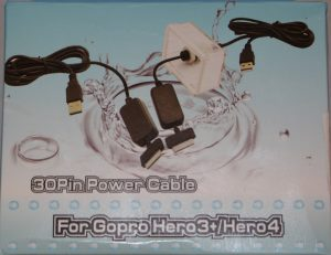 GoPro 30-pin power cable