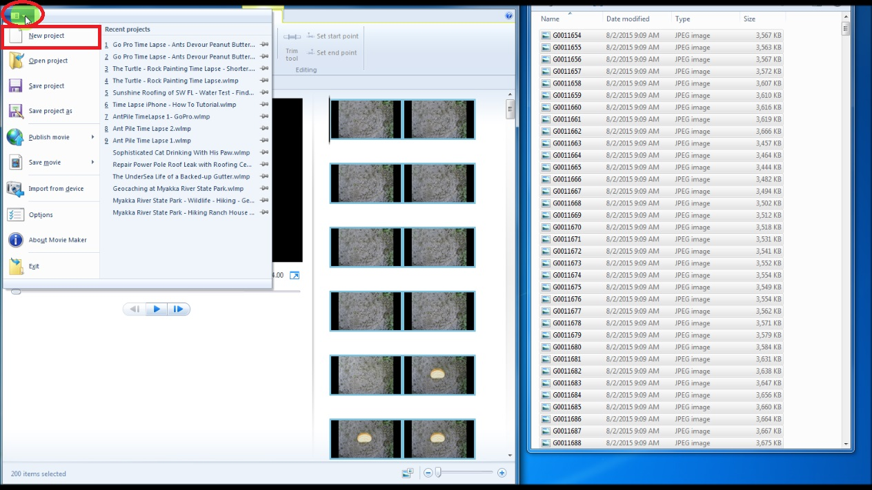 How to Save Windows Movie Maker Project to WMV