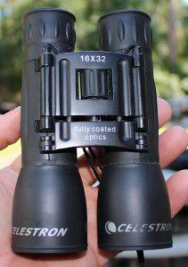 Celestron 16x32 binoculars