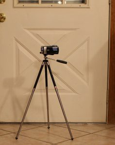 Polaroid 42 inch Travel Tripod Half Extended