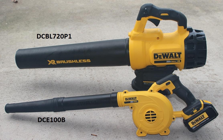 Dewalt DCBL720P1 20V Brushless Blower Kit