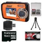 Coleman Duo 2V7WP Dual Screen Shock & Waterproof Digital Camera