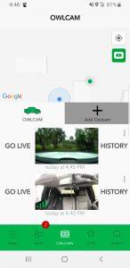 Owlcam App Screenshot