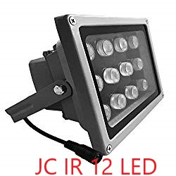 JC IR Illuminator 12 LED Security Camera Floodlight
