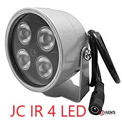 JC IR Illuminator 4 LED Security Camera Floodlight