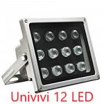 Univivi IR Illuminator 12 LED Security Camera Floodlight