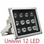 Univivi IR Illuminator 12 LED Security Camera Floodlight