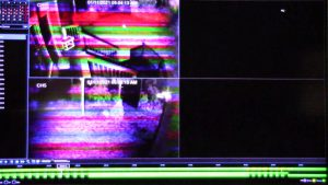 Glitch caused by IR Illuminator